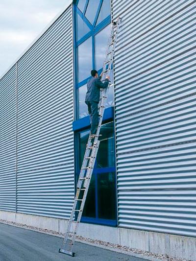 Алюминиевая лестница 10 метров
