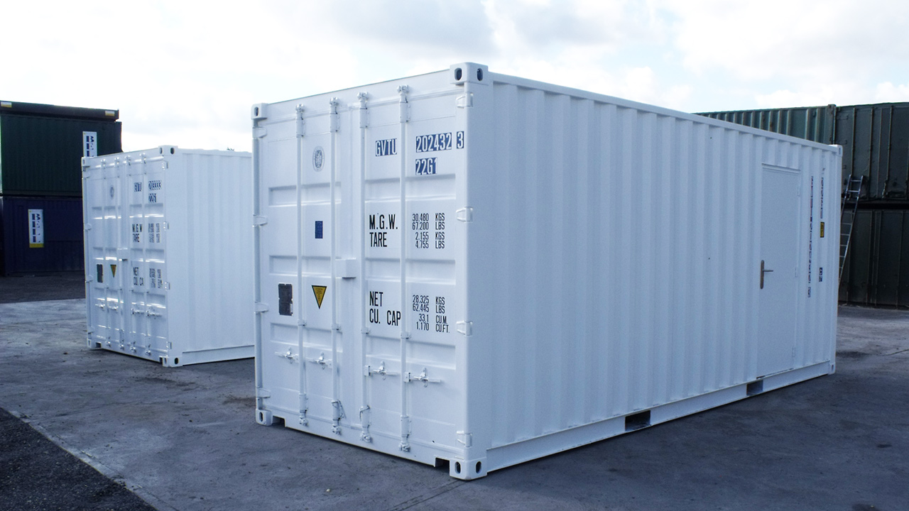 размеры 20 футового контейнера