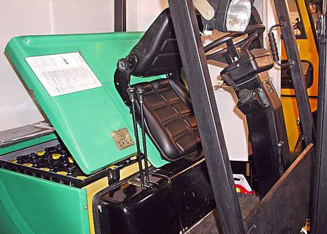 Подзарядка тягового аккумулятора