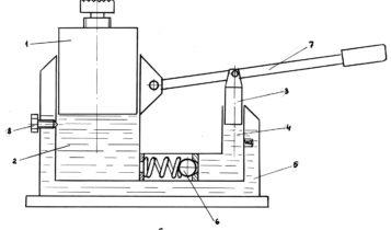 Устройство гидравлического домкрата
