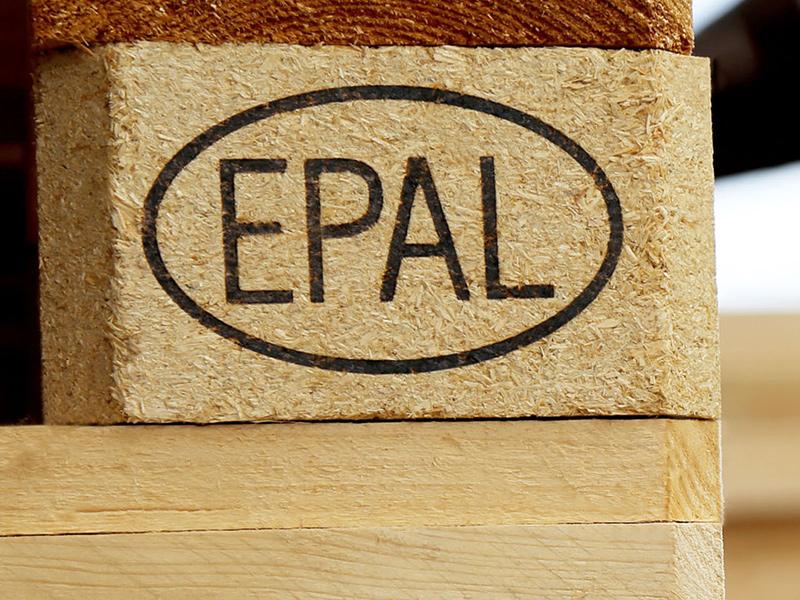 Маркировка ЕПАЛ на поддоне