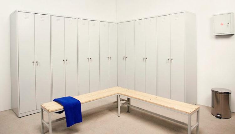 Железные шкафы для одежды